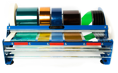 eighteen inch tape and label dispenser